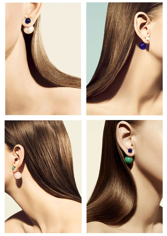 orecchini mise en dior