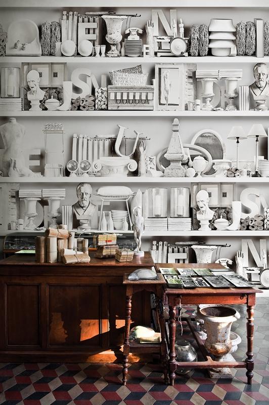 Carta da parati: Wall & Deco\' - The Shopping List